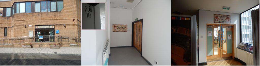 Egypt Centre entrances for visitors with autism
